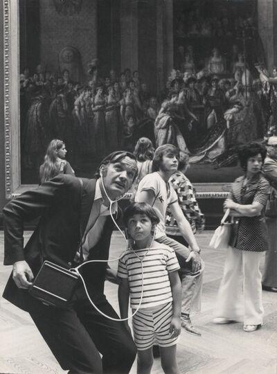 Robert Doisneau, 'Visite au Louvre, Paris', ca. 1970