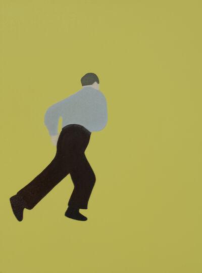 Dana Bell, 'Running in Yellow', 2000