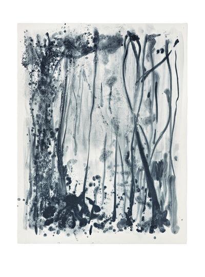 Shinro Ohtake, 'Indigo Forest 14', 2015