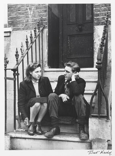Bert Hardy, 'On the Front Steps, Elephant and Castle, London', 1948