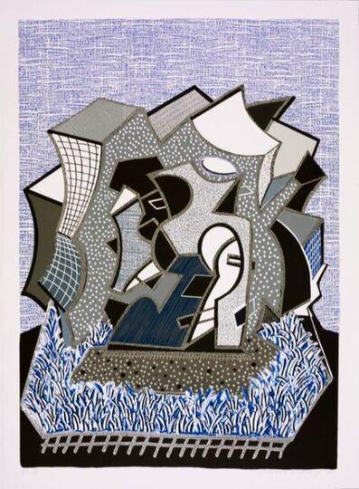David Hockney, 'Eine (Part I)', 1991