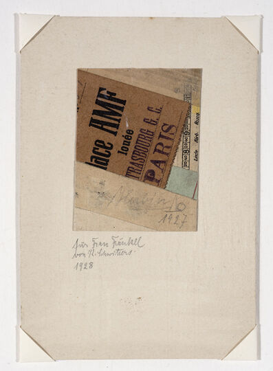 Kurt Schwitters, 'Untitled', 1927