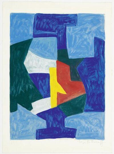 Serge Poliakoff, 'Composition bleue', 1966
