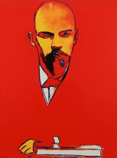 Andy Warhol, 'Red Lenin', 1987