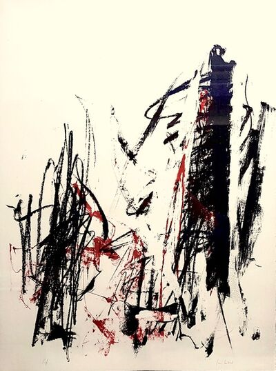 Joan Mitchell, 'Arbres (rouge)', 1992