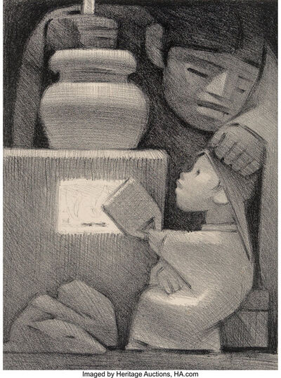 Jean Charlot, 'Mexican Kitchen', 1946