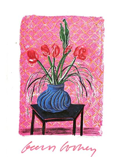 David Hockney, 'New Color Lithographs (Hand Signed)', 1985