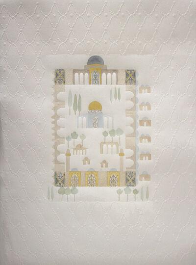 Raeda Ashour, 'Al Aqsa Mosque an Old Manuscript', 2017