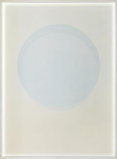 Olafur Eliasson, 'Large watercolour blue circle', 2015