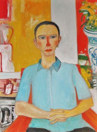 John Bellany R.A., 'Steve seated', ca. 2000