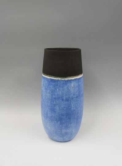 Mitsukuni Misaki, 'Vase decorated with slips', 2017