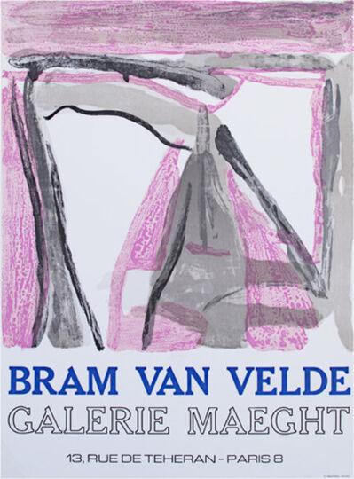 Bram van Velde, 'Galerie Maeght Exhibition Poster', 1975