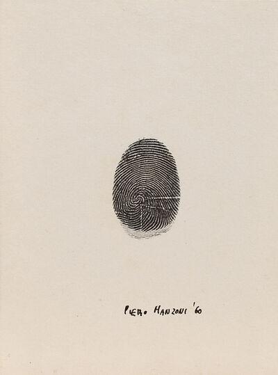 Piero Manzoni, 'Impronta del pollice sinistro', 1960