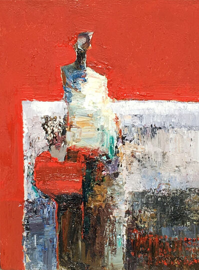 Danny McCaw, 'Corner Booth', 2018