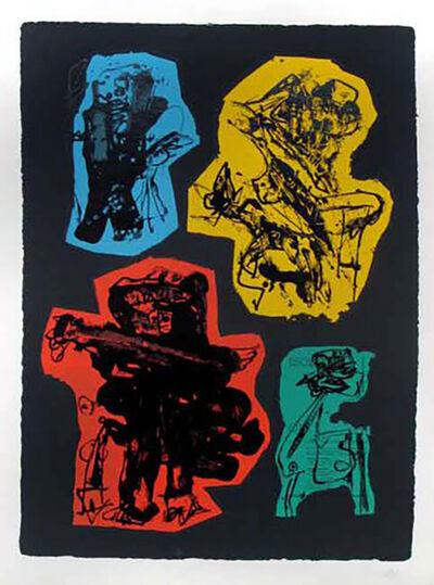 Antonio Saura, 'Tu Cabello Es Amarillo', 1962