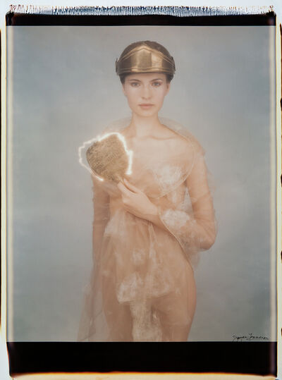 Joyce Tenneson, 'Warrior and Mirror', 1993