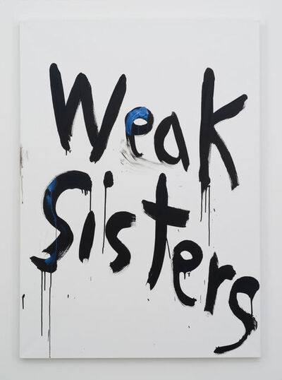 Kim Gordon, 'Weak Sisters', 2015