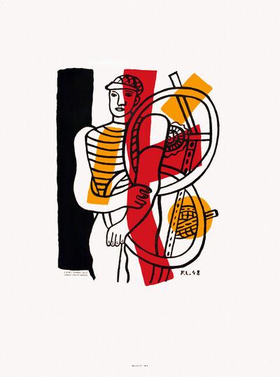 Fernand Léger, 'Le Cycliste', 1948