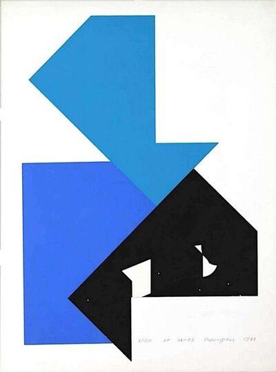 Heijo Hangen, 'OF 64-03', 1972