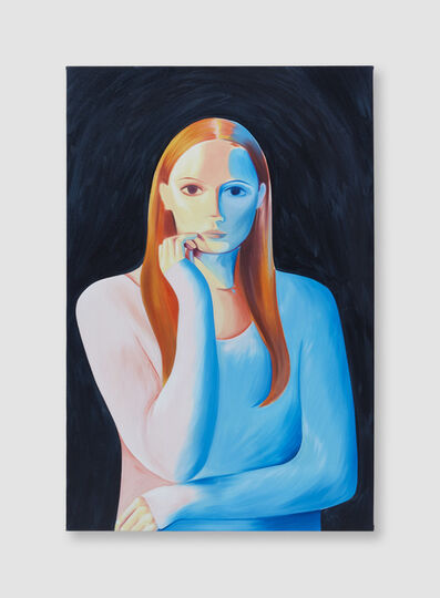 Ellie Pratt, 'Jumper model in Blue', 2019
