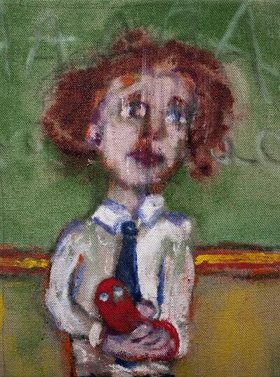 Danny Licul, 'Sock Puppet Presentation (#12)', 2012