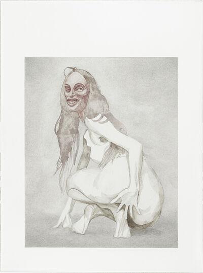 Friedemann Heckel, 'Untitled (Instagram Watercolor  #1)', 2017
