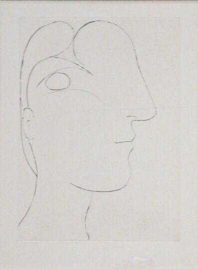Pablo Picasso, 'Sculptural Profile of Marie Thérèse', 1933