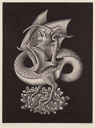 Maurits Cornelis Escher, 'Dragon', 1952