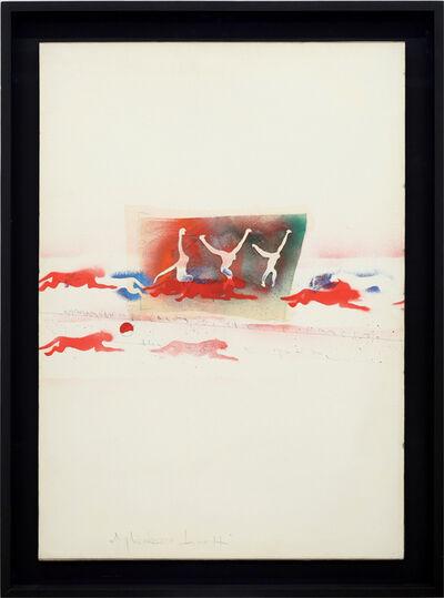 Alighiero Boetti, 'Ancora quanti salti di palo in frasca', ca. 1987