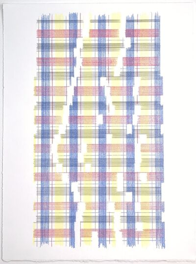 Laura Kaufman, 'Measure Of  The Universe (Plaid)', 2018