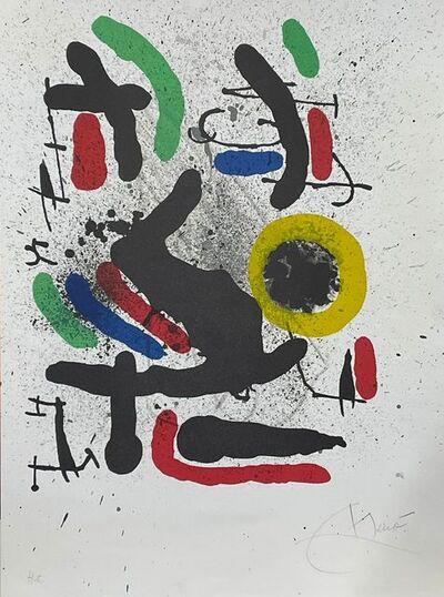 Joan Miró, 'Liberté des libertés 2', 1971