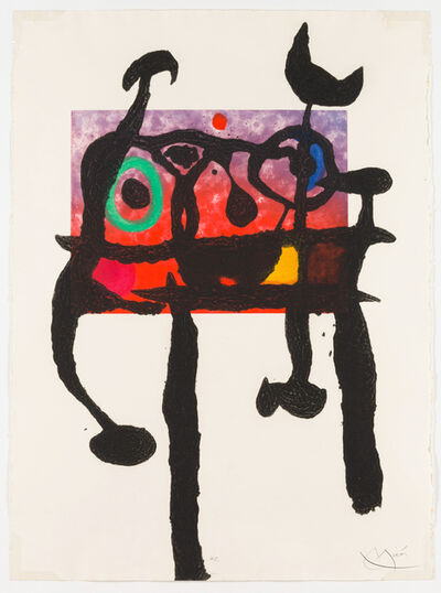Joan Miró, 'The Samurai', 1968