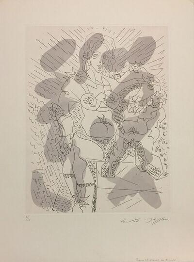 André Masson, 'Homme et femme en amour'