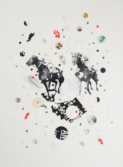 Lizzie Gill, 'Off To The Races', 2018