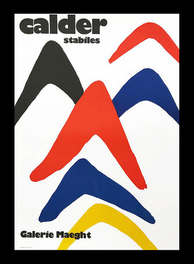 Alexander Calder, 'Alexander Calder Stabiles poster (1971/1999) ', 1999