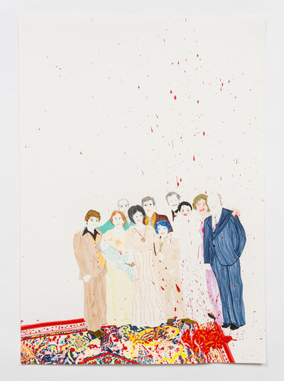 Elham Rokni, 'The Wedding Guests (The Roknis)', 2015