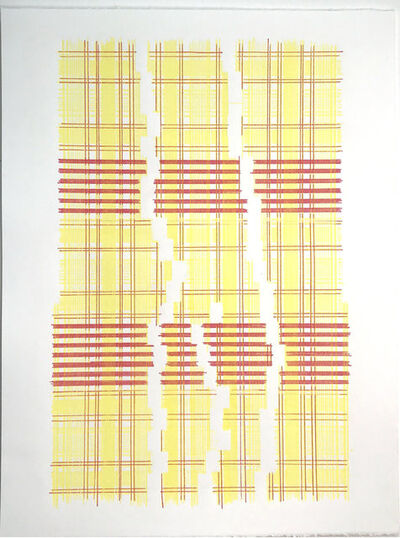 Laura Kaufman, 'Yearning Fora new Physics (Plaid)', 2018