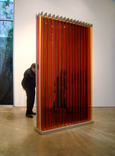 Carlos Cruz-Diez, 'Transchromie Dames A Permutation 1', 1965/2009