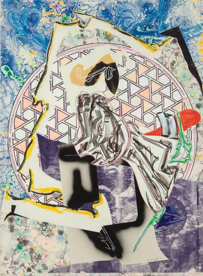 Frank Stella, 'The Great Heidelburgh Tun, from the Waves series', 1988