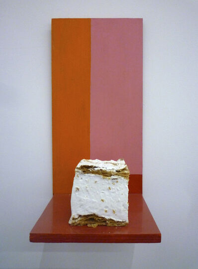 Mladen Stilinovic, 'Painting with Cake #1 / Pintura con Pastel #1', 1993