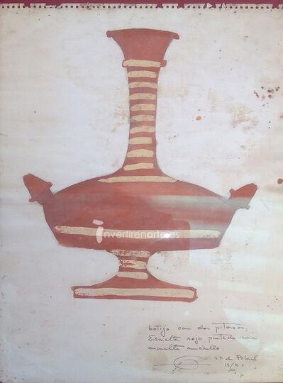 Fernando Zóbel, 'Botijo con dos pitorros', 1964