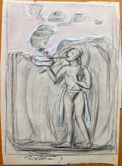 Pei Zhuangxin, 'Sketch ⼿稿《呼喚》', 2000