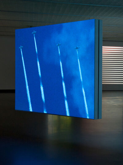 Marijke van Warmerdam, 'Skytypers, 16 mm film loop', 1997