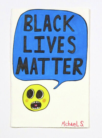 Michael Scoggins, 'COVIDBLM DRAWING #13 (Black Lives Matter!)', 2020