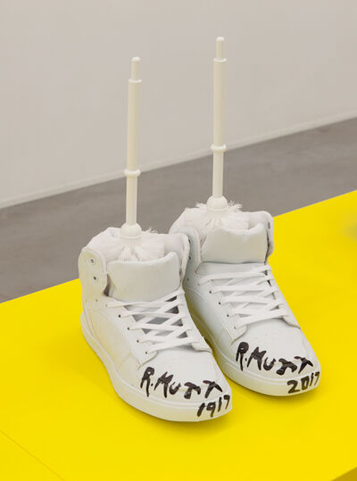 Michael Pybus, 'Duchamp 100th Anniversary Trainers', 2016