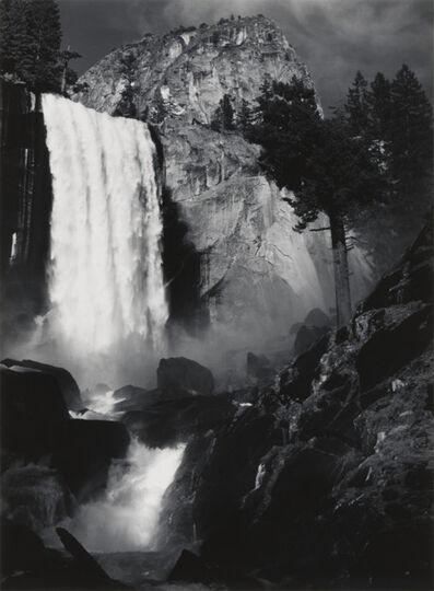 Ansel Adams, 'Vernal Fall, Yosemite National Park, California', ca. 1948