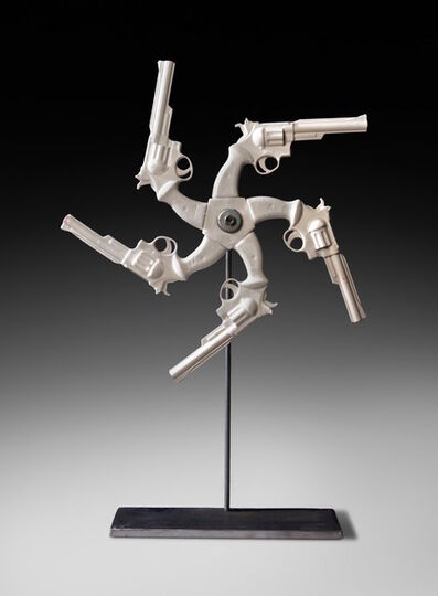 Linda Lighton, '44 Magnum Mandala', 2011