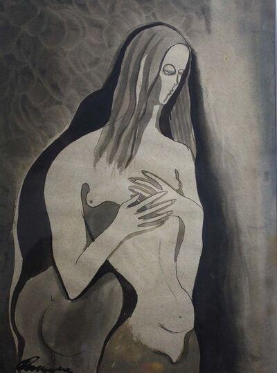 Carlos Enriquez, 'Desnudo', 1930