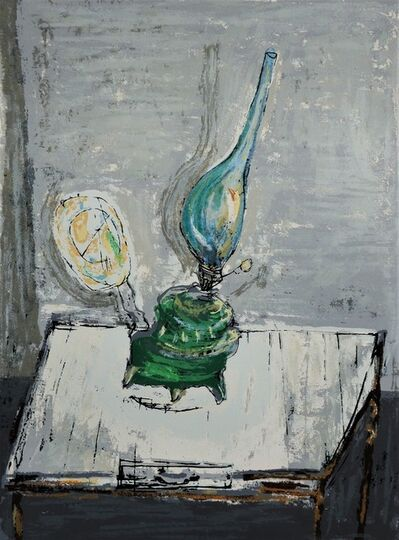 Yosl Bergner, 'Crooked Lamp', ca. 1980