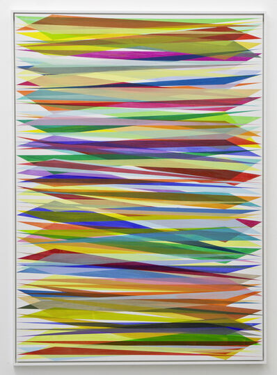Beat Zoderer, 'Keilbild No. 3/19', 2019